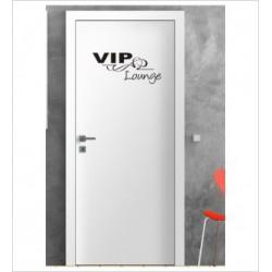VIP LOUNGE Wandaufkleber Aufkleber Tür Zimmer Schriftzug Wohnen