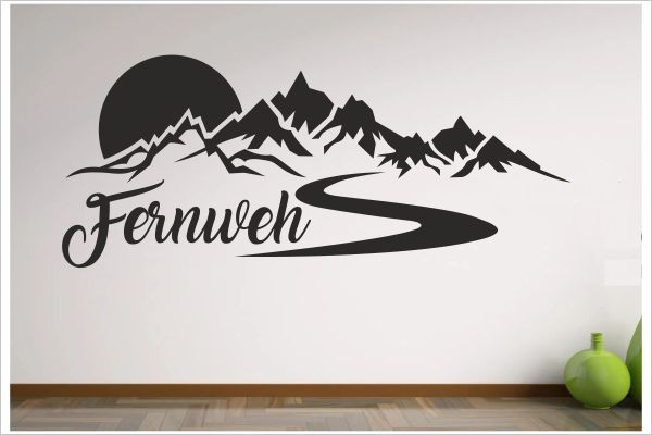 Berge Alpen Fernweh